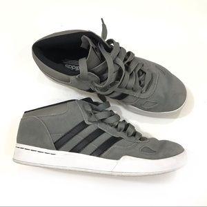 Adidas Ciero mid gray suede sneakers